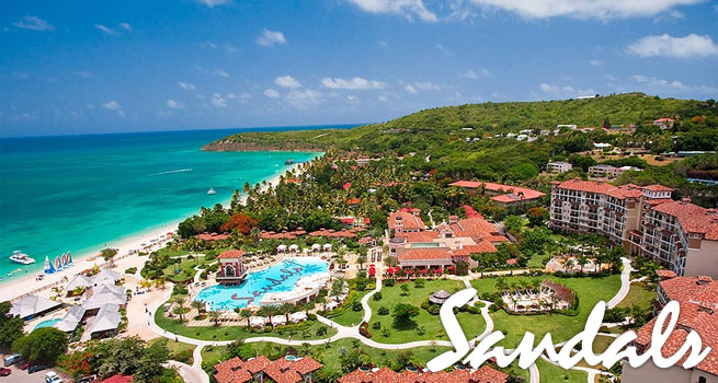 Sandals Resort Grande Antigua is the most romantic resort in the world!